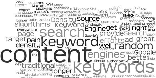 Otimizando o seu conteúdo