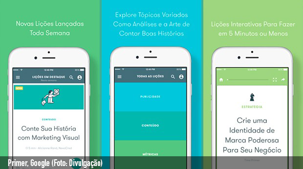 App gratuito do Google ensina Marketing Digital