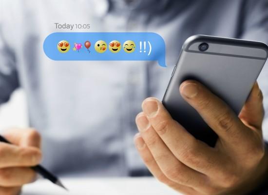 Emojis tendem a aumentar a taxa de leitura