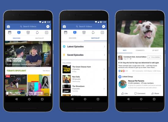 Watch: a plataforma de vídeos do Facebook
